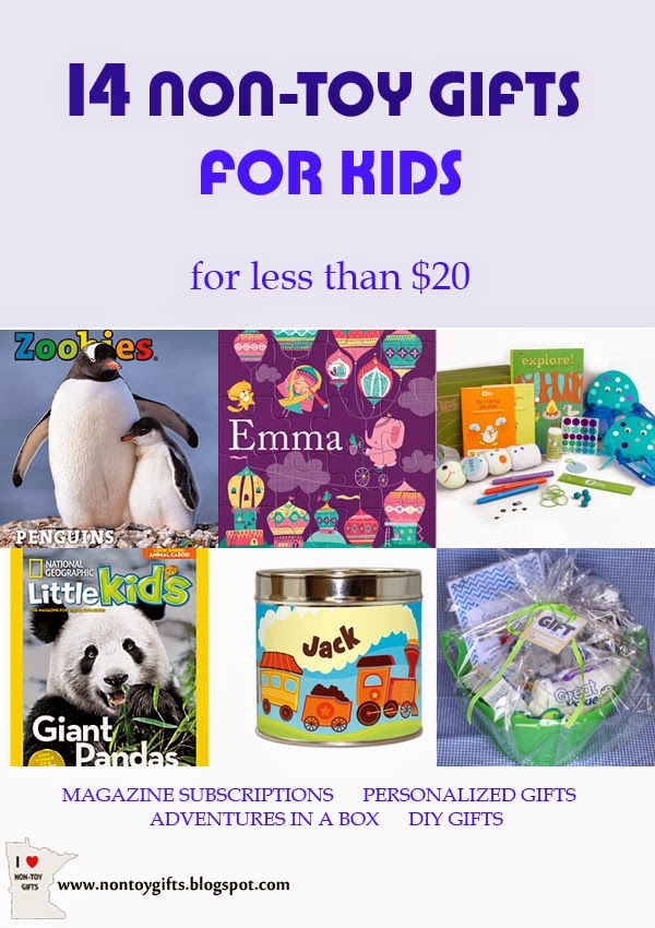 14 Non-Toy Gifts for Kids for less than $20