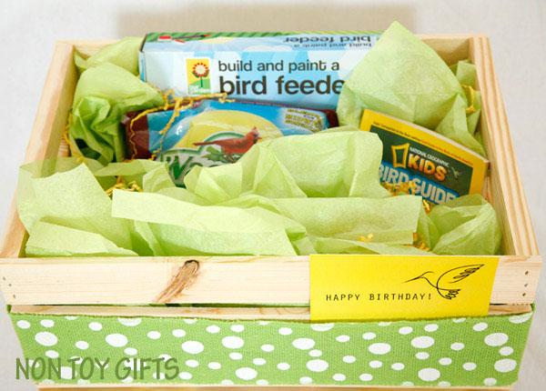 DIY bird watching kit gift for kids