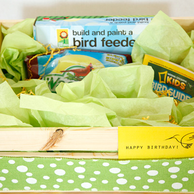 Gifts for Kids: DIY Bird Watching Kit