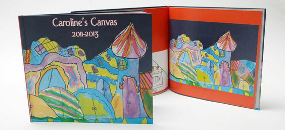 Turn kids artwork into gifts: books