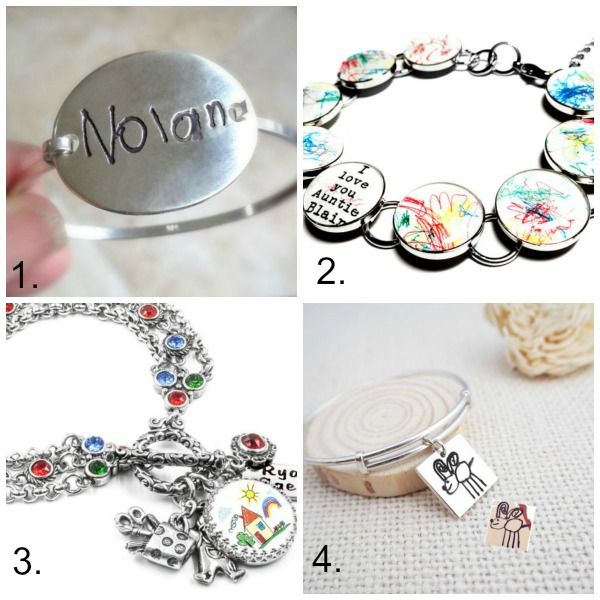 Turn kids artwork into gifts: bracelet