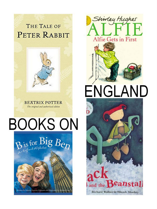Best Books for Kids about England, France and Italy. | at Non Toy GIfts
