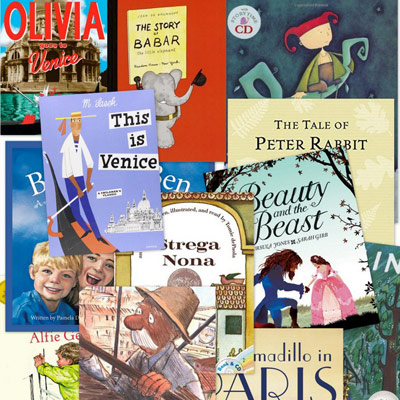 Best Books for Kids about England, France, and Italy