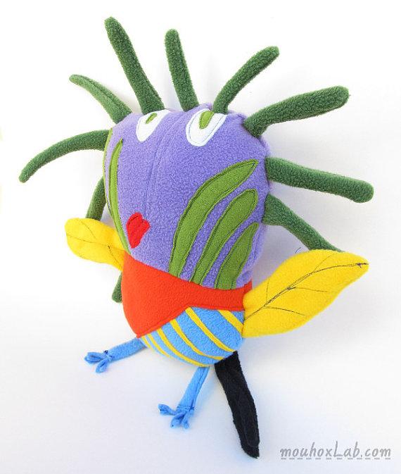 Turn kids artwork into gifts: dolls