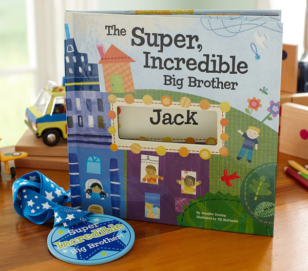 Best 12 big brother gifts from baby: big brother personalized book