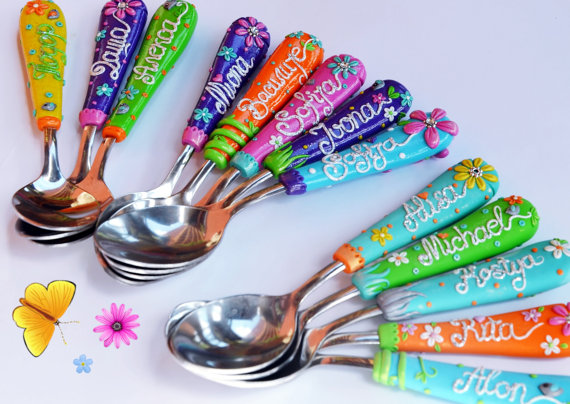 Handmade Kids Silverware - at Non Toy Gifts