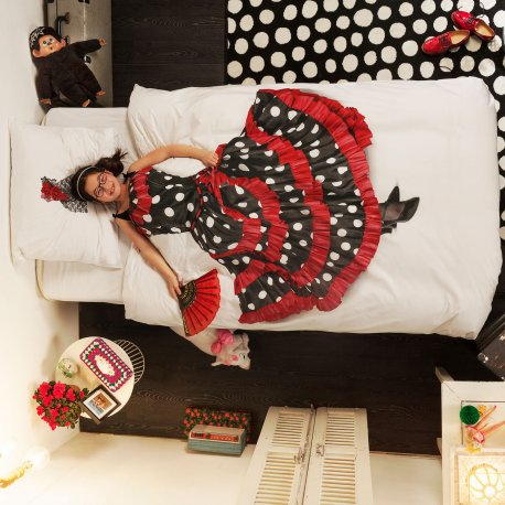 Best bedding for kids. Very realistic. Flamenco dancer | at Non Toy Gifts