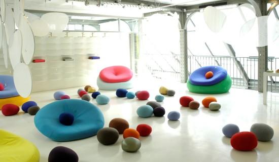 Nature inspired kids playroom