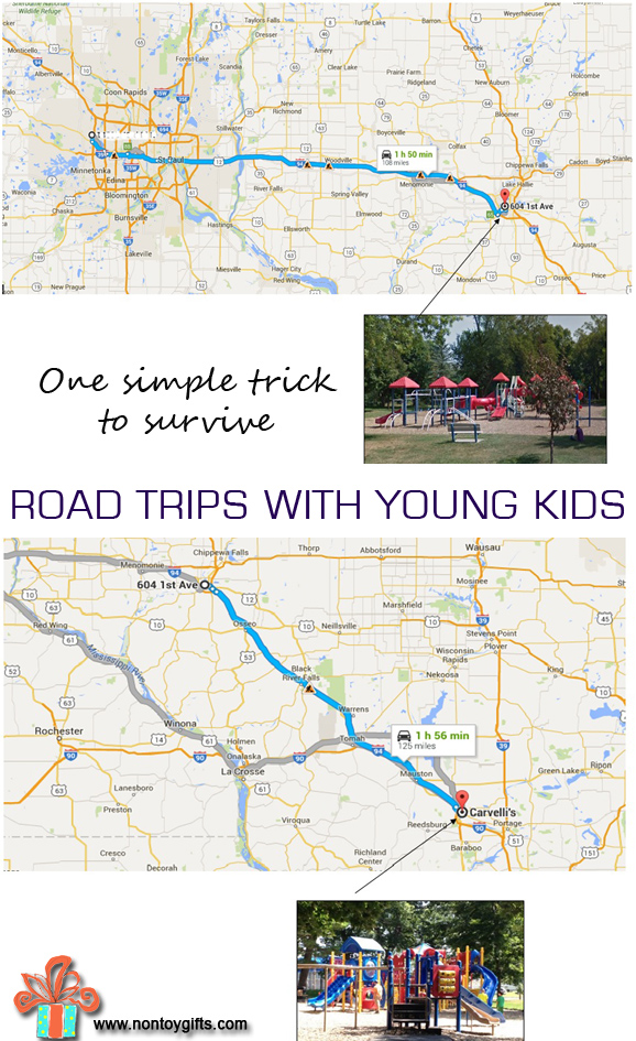Road Trip With Young Kids
