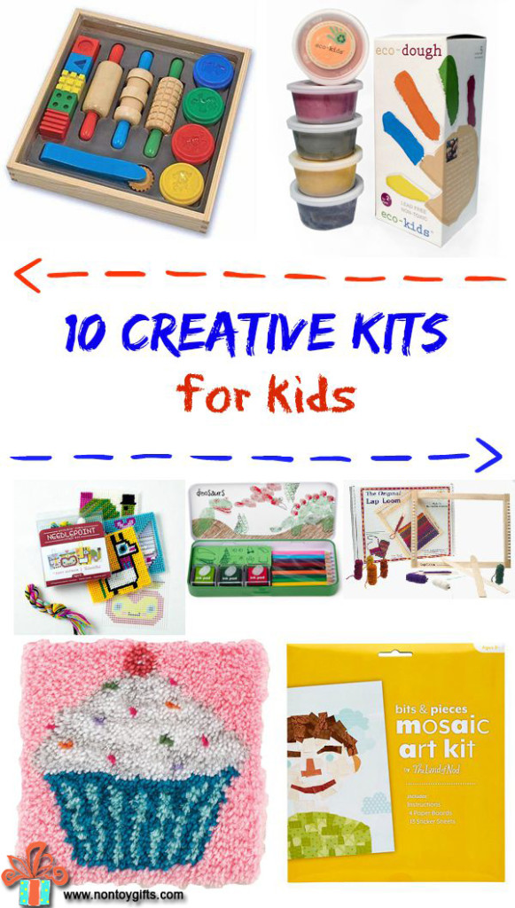 10 Creative kits for kids at Non Toy Gifts