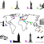 Treasure Hunt for Kids – Landmarks of the World {free printable}