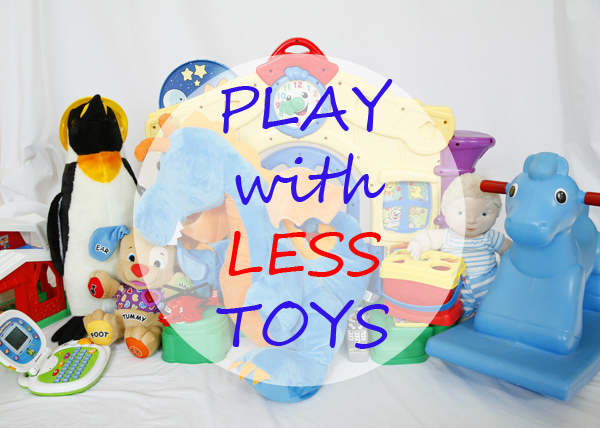 Play with less toys - at Non Toy Gifts
