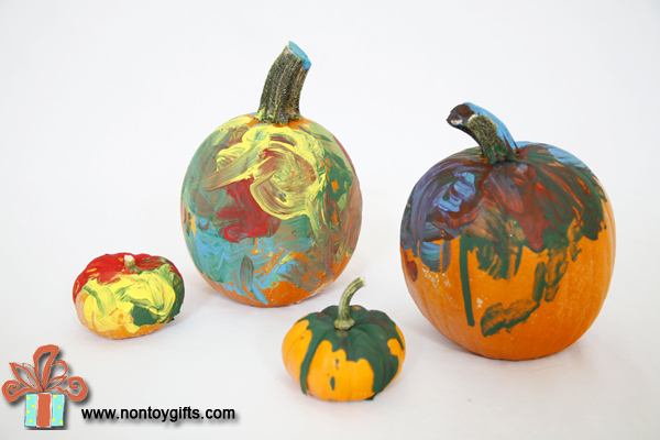 Painted Pumpkins and Other Fun Fall Activities for Kids