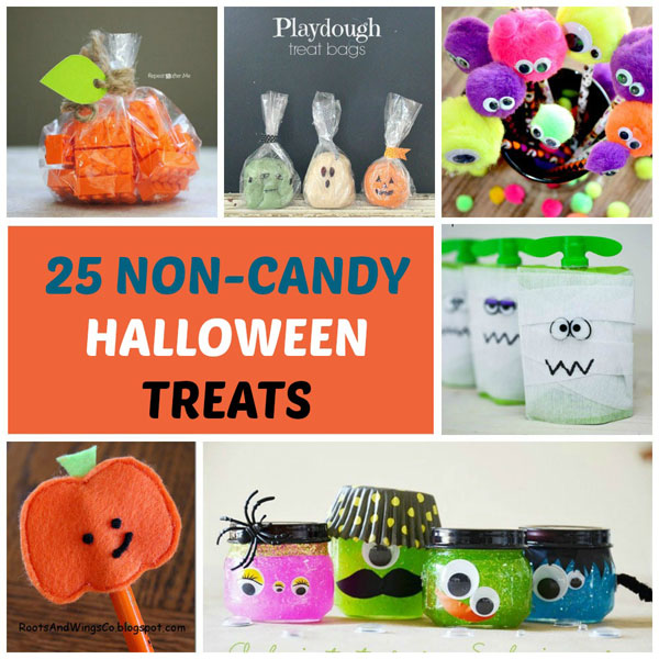 25 Non-candy Halloween treats for kids