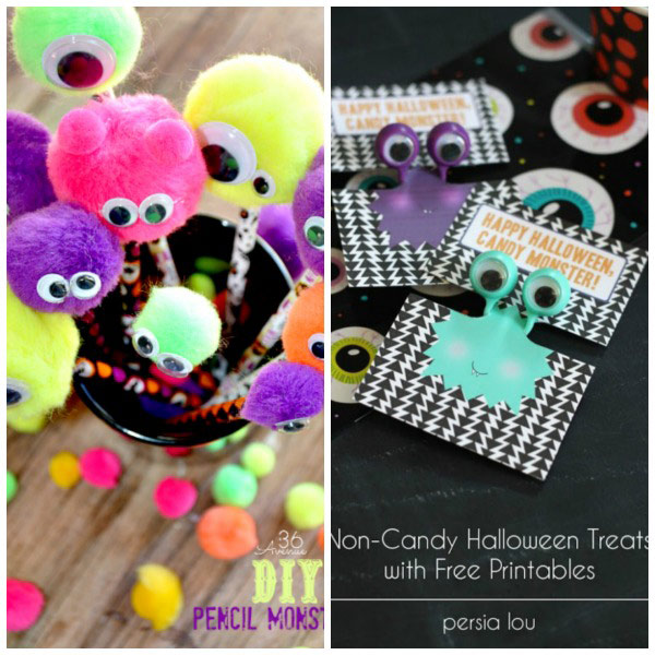25 Non-Candy Halloween treats to make for kids | at Non Toy Gifts