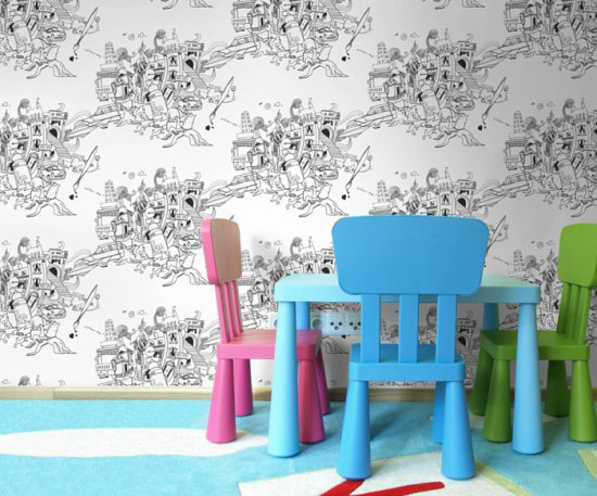5 Coloring wallpapers for kids. Better than any coloring pages | at Non Toy Gifts