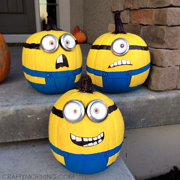 25 painted pumpkins for kids. Looking for carving alternative this