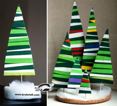 5 Cardboard Christmas Decorations
