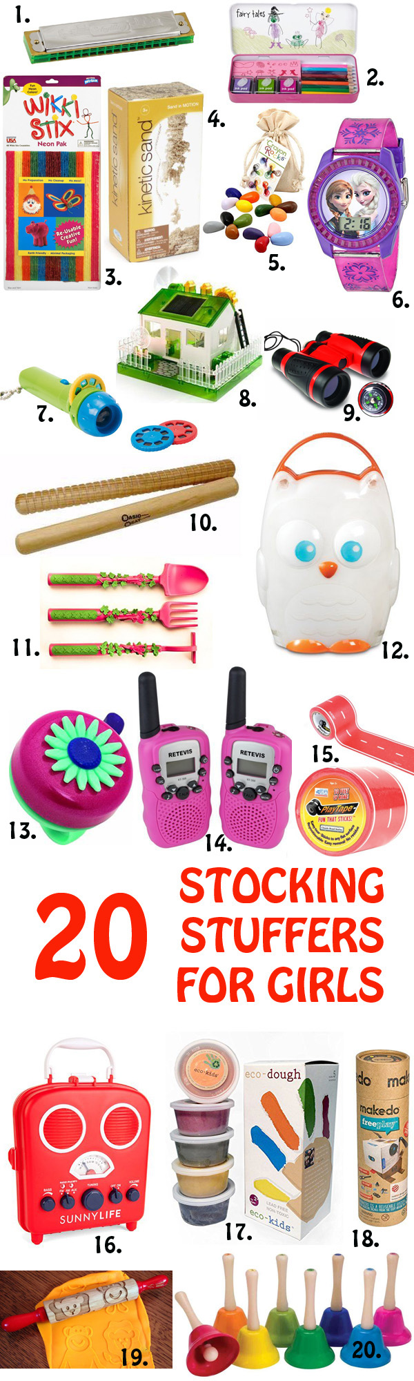 Toys For Teenage : Non candy stocking stuffers for boys and girls
