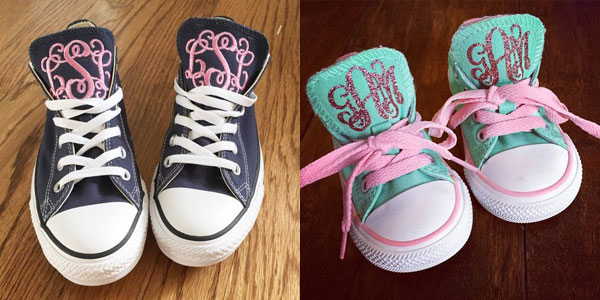 Personalized gifts for kids: sneakers