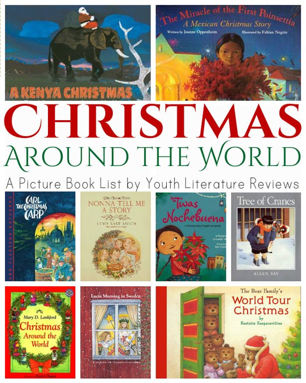 10 Christmas books for kids that feature holiday celebrations across the world - at Non Toy Gifts