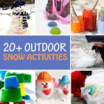 20+ Outdoor Snow Activities for Kids