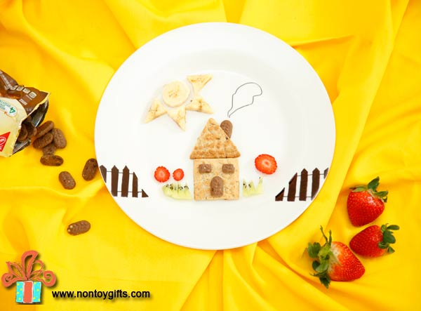 Personalized kid friendly breakfast - at Non Toy Gifts