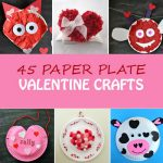 The Ultimate List of 45 Valentine Paper Plate Crafts