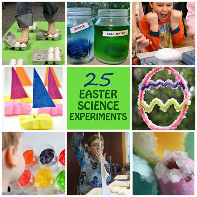 25 Easter Science Experiments for Kids