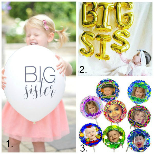 Big sister gift ideas: balloons