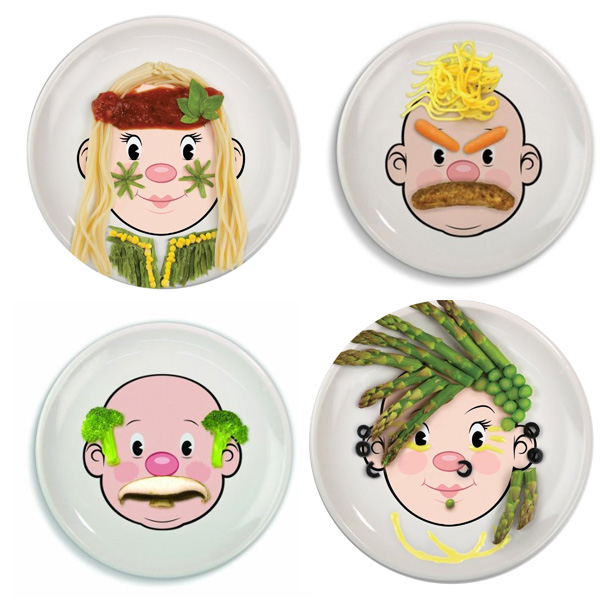 10 Non-Toxic Plates for kids: alternatives to plastic plates. Non-toxic, fun and colorful plates for kids for a healthy dinner. Ceramic, natural wood, silicone, glass and stainless steel are great eco-friendly materials. | at Non Toy Gifts