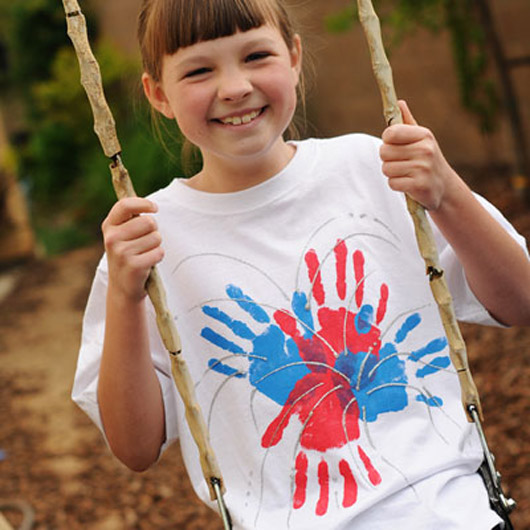 DIY patriotic shirts for kids 4