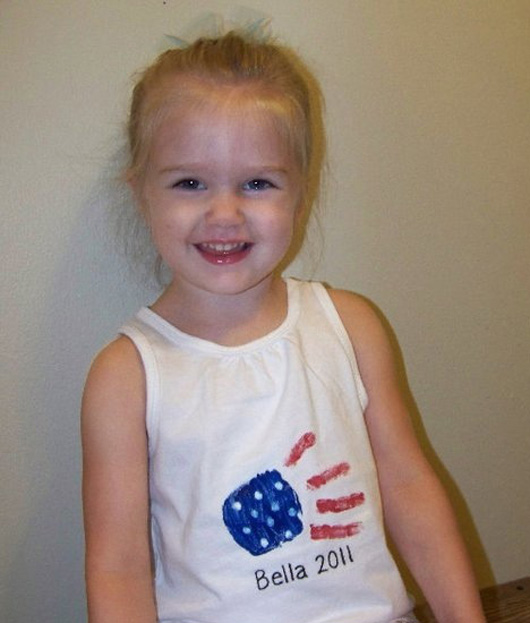 DIY patriotic shirts for kids 5