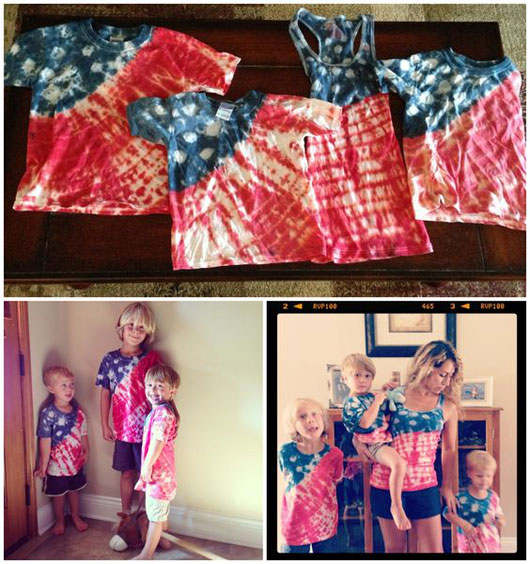 DIY patriotic shirts for kids 1