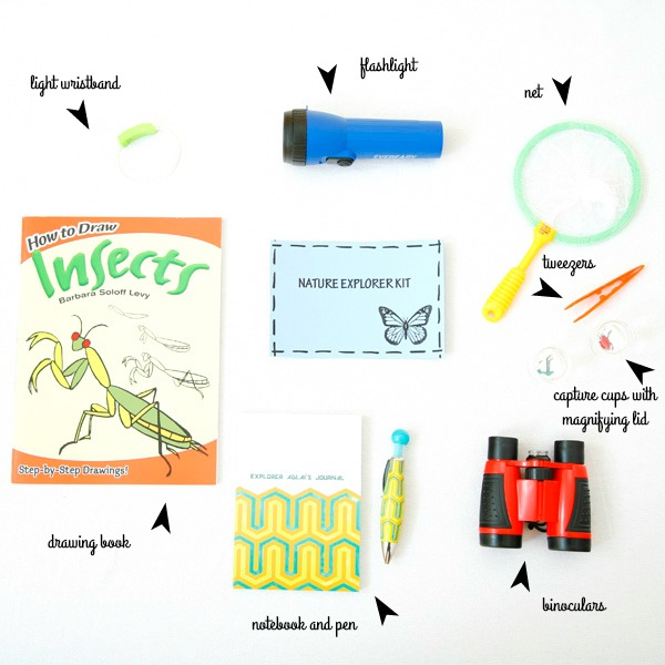 DIY nature explorer kit