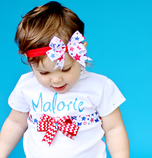 DIY patriotic shirts for kids 9