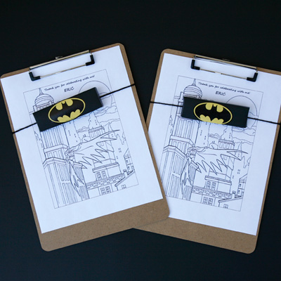 DIY Batman Party Favors for Kids