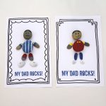 Dad Rocks: Father's Day Gift {free printable}