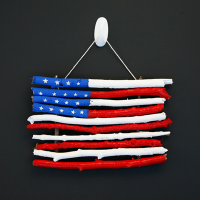 Easy Flag Craft for Kids