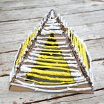 Stick Pyramid – Nature Craft for Kids