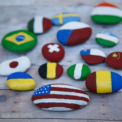 Flag Rocks – Olympic Craft