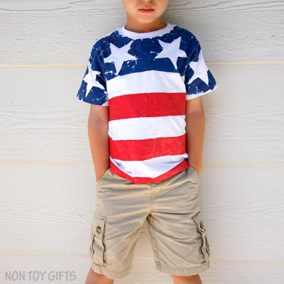 DIY Flag T-shirts for Kids