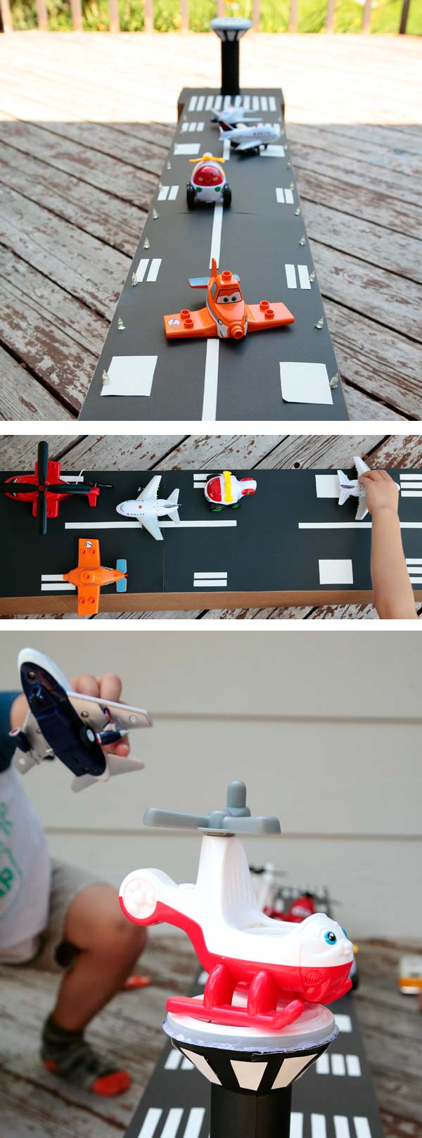 Diy cardboard airport for How to make a cardboard box car that moves