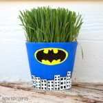 Superhero Grass Pots