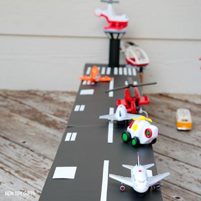 DIY Cardboard Airport