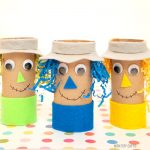 Paper Roll Scarecrow Craft for Kids