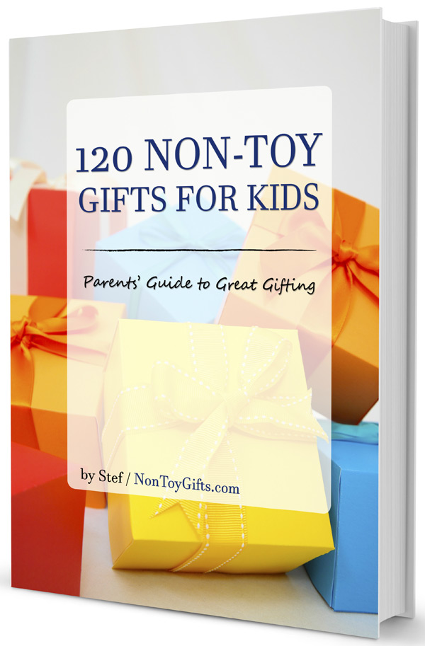 120 Non-Toy Gifts for kids eBook