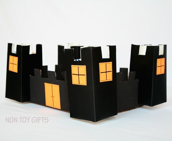 Cardboard Halloween Castle | at Non-Toy Gifts