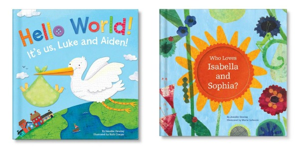 Personalized Books for twins