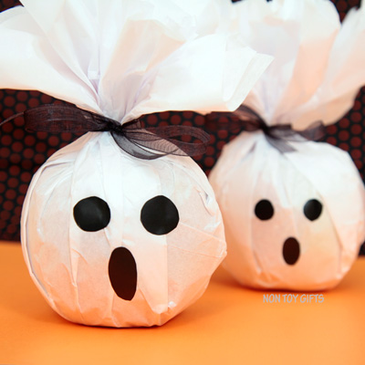 Healthy Ghost Treats for Halloween